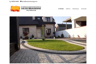 Wytwórnia Elementów Betonowych, Usługi Brukarskie - Jerzy Matuszczak - Kostka betonowa Wągrowiec