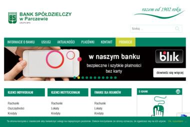 Bank Spółdzielczy w Parczewie Oddział Jabłoń - Kredyt Jabłoń
