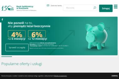 Bank Spółdzielczy w Rzeszowie Oddział Sieniawa - Kredyt Sieniawa