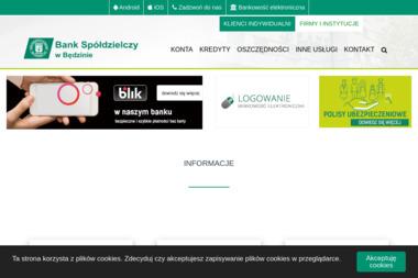 Bank Spółdzielczy w Będzinie Oddział Psary - Kredyt Psary
