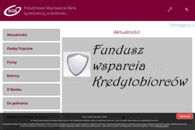 Południowo-Mazowiecki Bank Spółdzielczy w Jedlińsku Oddział w Wierzbicy - Kredyt Wierzbica
