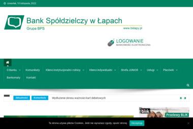 Bank Spółdzielczy w Łapach Filia Poświętne - Kredyt Poświętne