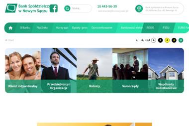 Bank Spółdzielczy w Nowym Sączu Punkt Obsługi Klienta - Doradcy Kredytowi Chełmiec
