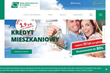 Bank Spółdzielczy w Płońsku Oddział Ciechanów - Kredyt Ciechanów