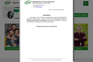 Bank Spółdzielczy w Prabutach Punkt Kasowy Nr 2 - Kredyt Prabuty