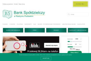 Bank Spółdzielczy w Radzyniu Podlaskim Oddział w Komarówce Podlaskiej - Doradcy Kredytowi Komarówka Podlaska