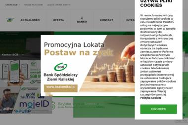 Bank Spółdzielczy Ziemi Kaliskiej Oddział Brzeziny - Finanse Brzeziny