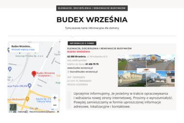 Budex Puh Romuald Lisiewicz - Budowa domów Września