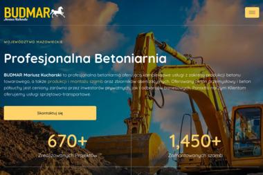 Budmar Mariusz Kucharski - Wylewka Betonowa Legionowo