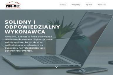 Przedsiębiorstwo Handlowo Usługowe Pro Met Mariusz Pankiewicz - Roboty ziemne Włocławek