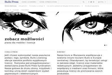 Bulls Press Sp. z o.o. - Agencje fotograficzne Warszawa