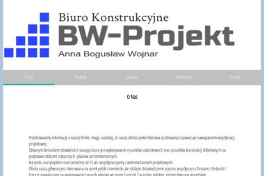 BW-projekt. Konstrukcje żelbetonowe, rysunki zbrojeniowe - Adaptacja projektów Świebodzice