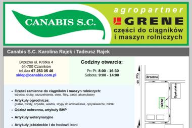 Canabis s.c. - Sprzedaż Maszyn Budowlanych Brzeźno
