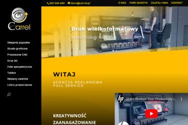 PHU Carrel Krystian Panuciak. Reklama, oklejanie samochodów - Agencja marketingowa Glinno