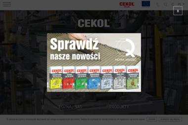 Cedat Sp. z o.o Chemia Budowlana Cekol - Skład budowlany Dąbrowa Górnicza