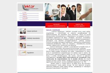 Centrum Edukacyjne Lektor - Szkoła Językowa Lubasz
