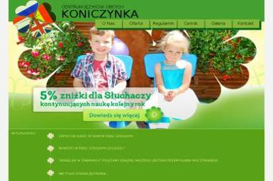 Centrum Języków Obcych Koniczynka Agnieszka Błachnio - Nauczanie Języków Kąty Wrocławskie