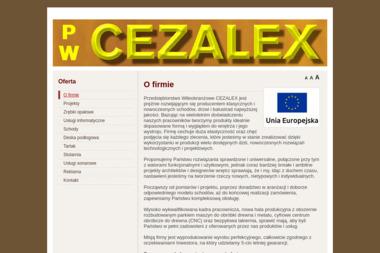 Przedsiębiosrtwo Wielobranżowe Cezalex - Schody Olsztyn