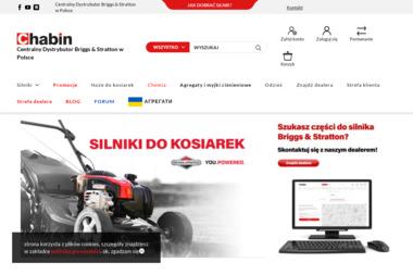 Chabin Sp. J. Centralny Autoryzowany Serwis Dystrybucyjny Briggs & Stratton w Polsce - Sprzęt Budowlany Łódź