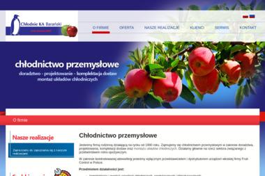 Chłodnie Ka Barański Paweł - Urządzenia, materiały instalacyjne Bełchatów