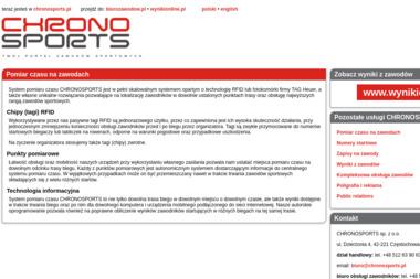 Chronosports Sp. z o.o. - Joga Częstochowa