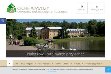 Sanatorium Uzdrowiskowe 'Ciche Wąwozy' w Nałeczowie N.Z.O.Z. - Hotel i Spa Nałęczów