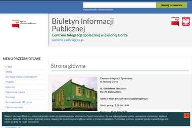 Centrum Integracji Społecznej - Pomoc domowa Zielona Góra