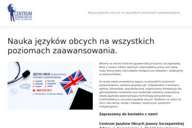 Centrum Języków Obcych Joanny Szczepańskiej - Nauka Angielskiego Góra Kalwaria