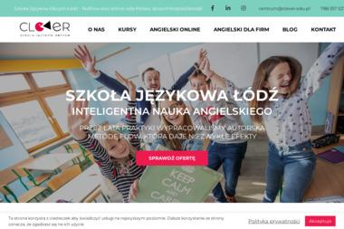 Clever. Centrum Języków Obcych - Szkoła językowa Łódź