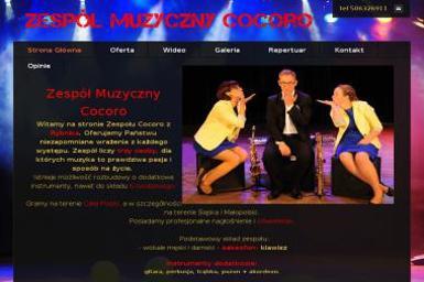 Zespół Muzyczny Cocoro. Zespół na wesele, zespół weselny - Zespół muzyczny Wodzisław Śląski
