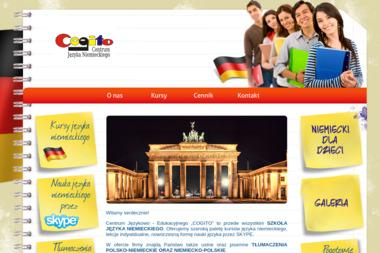 Centrum Językowo-Edukacyjne Cogito. Szkoła języka niemieckiego, j.rosyjski - Kurs rosyjskiego Szczecin