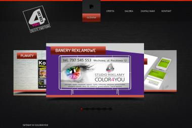 Studio Reklamy Color4You - Drukarnia Wschowa