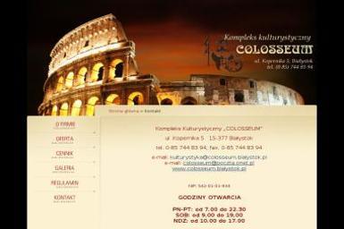 Colosseum - Trener personalny Białystok
