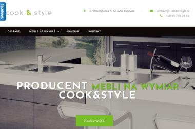 Cook&Style. Studio Mebli Kuchennych, Studio Kamienia Naturalnego Dawid Jurkowski - Nowoczesne Kuchnie Gorzów Wielkopolski