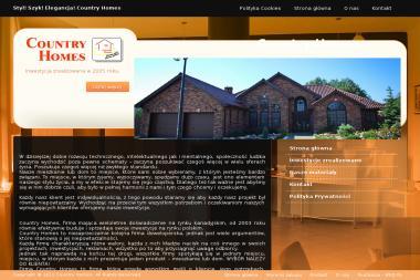Country Homes Sp. z o.o. - Tynki Maszynowe Cementowo Wapienne Augustów