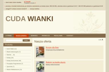 Cuda Wianki Magdalena Pietrasiak - Kosze prezentowe Zduńska Wola