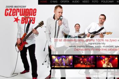 Czerwone Buty. Wesele, muzyka - Zespół muzyczny Wrocław