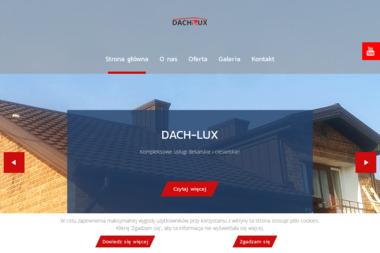 Iwona Czarnowska Firma Handlowo Usługowa Dach Lux - Tynki maszynowe Dziemiany