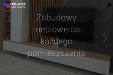 Dagana. Meble kuchenne, szafy wnękowe - Meble na wymiar Nowy Tomyśl
