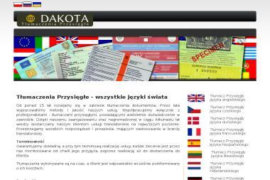 Tłumaczenia przysięgłe wszystkie języki-dakota - Tłumacze Głowno