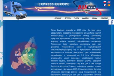 Daniel Wielgus Dantrans - Firma transportowa Tarnów
