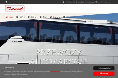 DANIEL Przewozy Autokarowe - Firma transportowa Strzelin