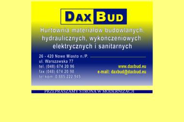 PHU i Doradztwo Daxbud. Iwona Cudzich - Market Budowlany Nowe Miasto N. Pilicą