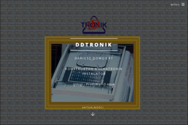 Dd Tronik. Dariusz Dowgiert - Usługi Prawnicze Czarna Białostocka