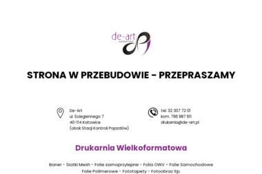 Wydawnictwo De-Art - Kalendarze Katowice