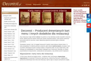Decorest. Serwetniki, przyprawniki - Agencja marketingowa Wałbrzych