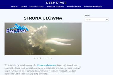 Deep Diver. Krzysztof Trawiński - Fotografia Ślubna Piła