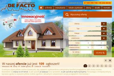 """Biuro Nieruchomości """"DE FACTO"""" - Agencja nieruchomości Elbląg"""