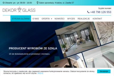 PPHU Dekor Glass S.C. Jarosław Stachura Michał Stańdo - Hurtownia Materiałów Budowlanych Bochnia