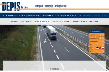 DEPIS Sp. z o. o. - Transport ciężarowy krajowy Zielona Góra